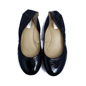 Cole Haan Black Patent Leather Ballet Flats  Sz 5